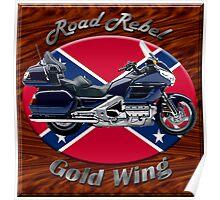 Honda Gold Wing Road Rebel Poster