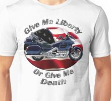 Honda Gold Wing Give Me Liberty Unisex T-Shirt