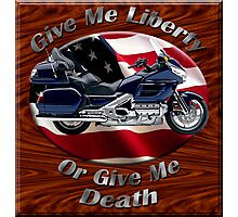Honda Gold Wing Give Me Liberty Photographic Print
