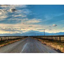 Road to Laramie Peak Photographic Print