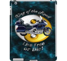 Honda Gold Wing King of the Road iPad Case/Skin