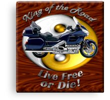 Honda Gold Wing King of the Road Canvas Print