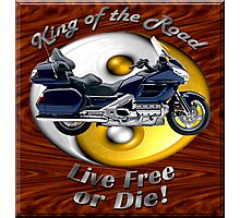 Honda Gold Wing King of the Road Photographic Print