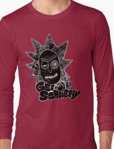 Get Schwifty Invert Long Sleeve T-Shirt