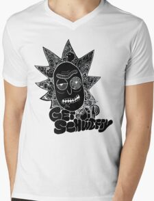 Get Schwifty Invert Mens V-Neck T-Shirt