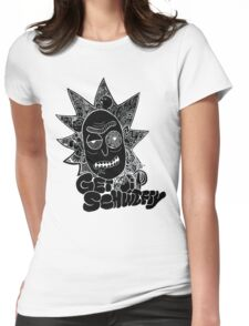 Get Schwifty Invert Womens Fitted T-Shirt