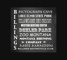 Billings Montana Famous Landmarks Unisex T-Shirt