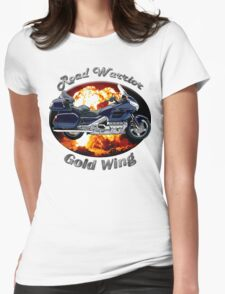 Honda Gold Wing Road Warrior Womens Fitted T-Shirt