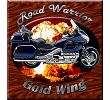Honda Gold Wing Road Warrior Photographic Print