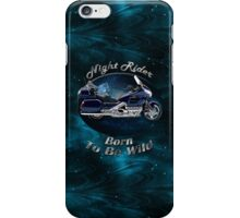 Honda Gold Wing Night Rider iPhone Case/Skin