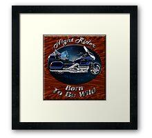 Honda Gold Wing Night Rider Framed Print