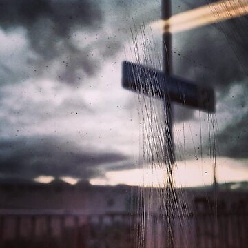 Melbourne Winter from a Melbourne Train by Karl Tattersall