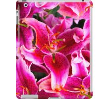 Brilliant purple lillies iPad Case/Skin