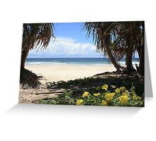 Pathway to Dreamtime Beach  Greeting Card