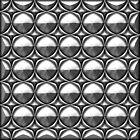 Abstract Chrome background design by creativedesignz