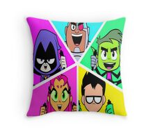 Teen Titans Go! Throw Pillow
