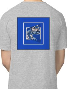 blue boy runnin' (sq full frame) Classic T-Shirt