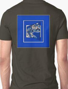blue boy runnin' (sq full frame) T-Shirt