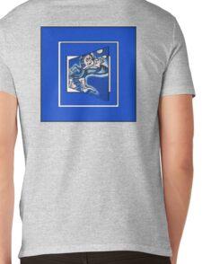 blue boy runnin' (sq full frame) Mens V-Neck T-Shirt