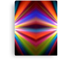 Colorful blur background Canvas Print