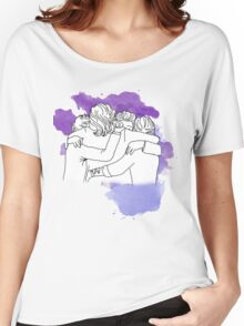 one direction last hug  Women's Relaxed Fit T-Shirt