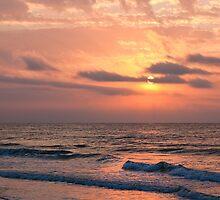 Beach Sunrise II, Ocean Isle Beach, NC by Denise Worden