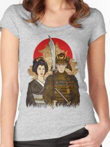 Samurai's Daughter Women's Fitted Scoop T-Shirt