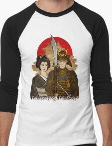 Samurai's Daughter Men's Baseball ¾ T-Shirt
