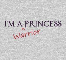 I'm a Warrior Princess Kids Clothes