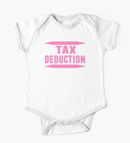 Tax Deduction One Piece - Short Sleeve