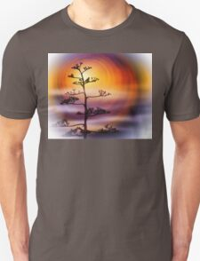 Sunset Bird Unisex T-Shirt