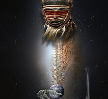 cosmic shaman 39 by arteology