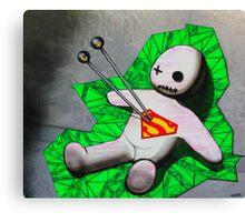 NO HERO Canvas Print