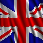 Great Britain Wavy Flag illustration by creativedesignz