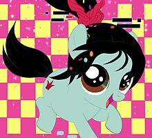Pony Vanellope by Ashley Krauss