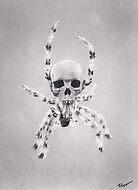 Arachnophobia's Reaper by brittnideweese