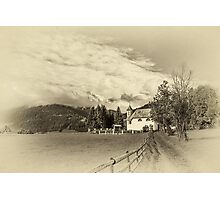 Alpine landscape Photographic Print