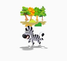 Cute Stuffs Collector's Tee-Shirts and Stickers - Zebra Unisex T-Shirt