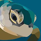 Vector Sea Turtle by rachels1689