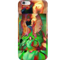6670_Orchid Goddess iPhone Case/Skin