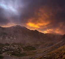 Sunrise in the Sangre de Cristo - Sangre de Cristo Wilderness, Colorado by Jason Heritage