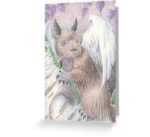 Winged Fantasy Creature Greeting Card