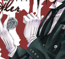 One Hell of a Butler - with text Sticker