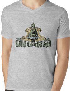 TAKE TO THE SEA Mens V-Neck T-Shirt