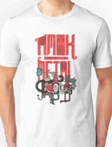 Amok and Totally Metal Unisex T-Shirt