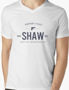 Person of Interest - Shaw Mens V-Neck T-Shirt