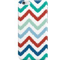 colorful ikat chevron pattern iPhone Case/Skin