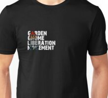 Garden Gnome Liberation Movement (Zookwinkle) Unisex T-Shirt