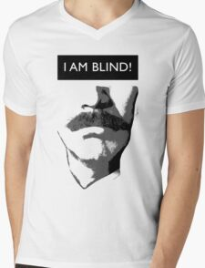 Anchorman 2: I Am Blind Mens V-Neck T-Shirt