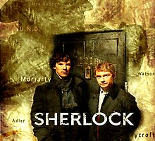 Sherlock Holmes Map by Hannahrain by hannahrain
